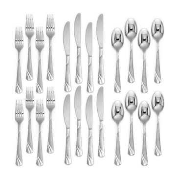 Cambridge Jodie Frost Flatware Set, Service for 8