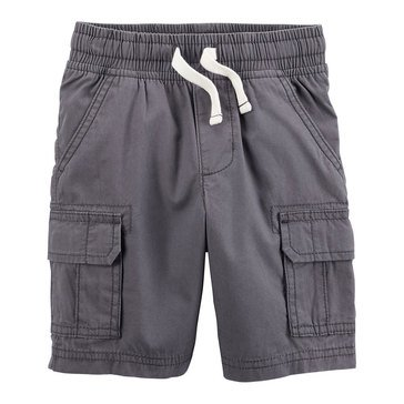 Carter's Little Boys' Grey Cargo Pull On Short