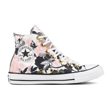 Converse Chuck Taylor All Star Hi - FloralWhite / Storm Pink / White