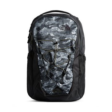 The North Face Jester Backpack - Black Textured Camo/Black