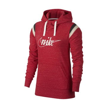 Nike Women's New Sports Wear Gym Vintage Pullover Hoodie