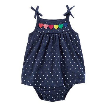 Carter's Baby Girls' Sunsuit, Hearts
