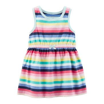 Carter's Baby Girls' Knit Dress, Stripes