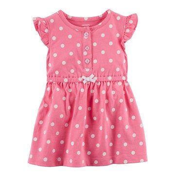 Carter's Baby Girls' Knit Dress, Dots