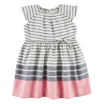 Carter's Baby Girls' Everyday Dress, Stripes