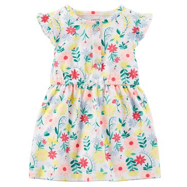 Carter's Baby Girls' Knit Dress, Floral