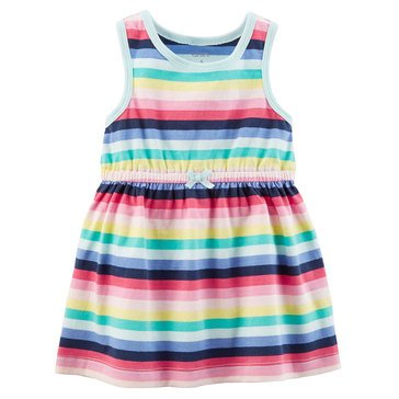 Carter's Baby Girls' Knit Dress, Stripe