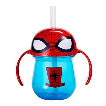 Marvel Superman Flip Top Straw Cup