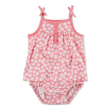 Carter's Baby Girls' Sunsuit, Pink Floral