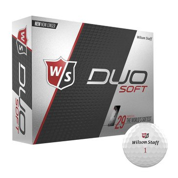 Wilson Duo Soft White Golf Balls, 12-Pack