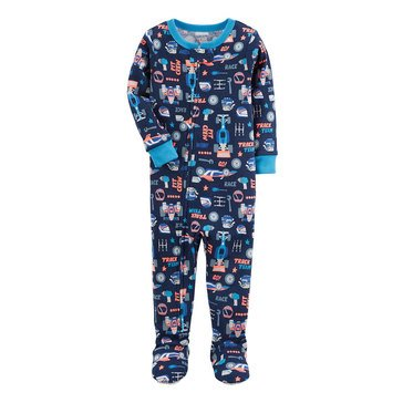 Carter's Baby Boys' 1-Piece Cotton Pajamas, Racecar