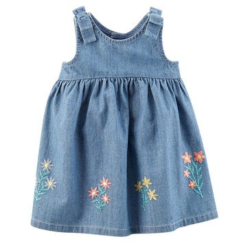Carter's Baby Girls' Chambray Dress, Collection 3