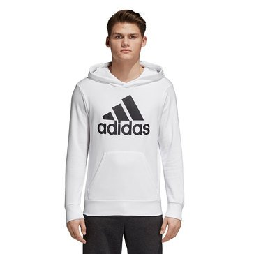 Adidas Men's Essentials Linear Pullover French Terry Hoodie