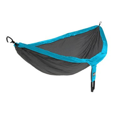 ENO Eagles Nest Outfitters DoubleNest Hammock - Teal/Charcoal