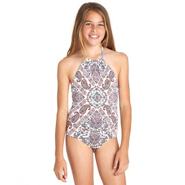 Billabong Little Girls' 1-Piece Swimsuit