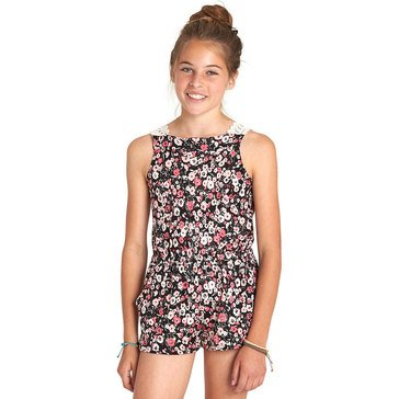 Billabong Big Girls' Happy Now Woven Romper