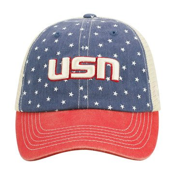 Top Of The World Hat With USN Freedom Design