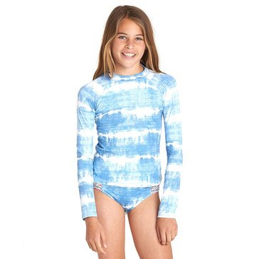 Billabong Big Girls' 2-Piece Lil Bliss Rashguard Swim Set