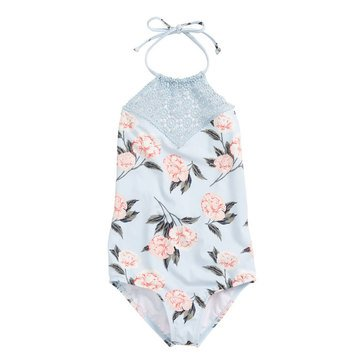 Billabong Big Girls' 1-Piece Petal Daze Swimsuit