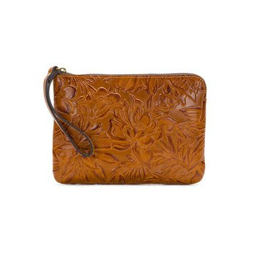 Patricia Nash spring Tooled Cassini Wristlet Gold