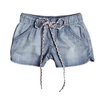 Roxy Little Girls' Her Songs Denim Short