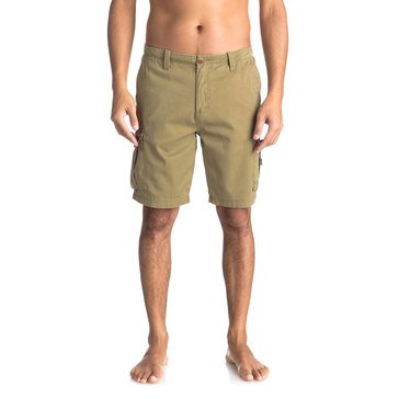 Quiksilver Men's Crucial Battle Cargo Shorts in Khaki