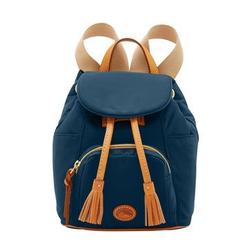 Dooney and Bourke Nylon Small  Backpack Navy