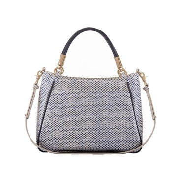 Brahmin Ruby Shoulder Bag Blue Lorena