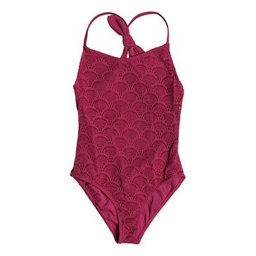 Roxy Big Girls' 1-Piece Hello Summer Swimsuit
