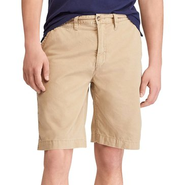 Polo Ralph Lauren Men's Flat Front Relaxed Fit Surplus Shorts in Tan