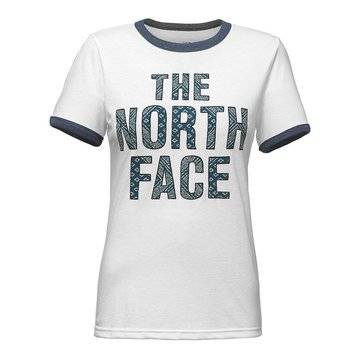 The North Face Women's Short Sleeve Tri-Blend Ringer Tee
