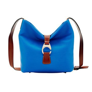 Dooney and Bourke Derby Pebble  Crossbody Hobo Royal Blue Web Exclusive