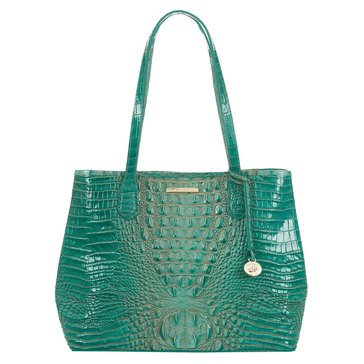 Brahmin Medium Julian Tote Turquoise