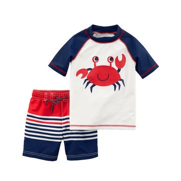 Carter's Baby Boys' 2-Piece Trunk Set