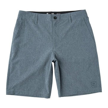 RVCA Men's All the Way Hybrid Shorts in Navy
