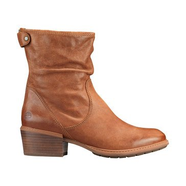 Timberland Sutherlin Bay Mid Back Zip Boot Brown