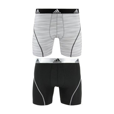 Adidas Men's Performace Sport Climalite 2-Pack Boxer Briefs