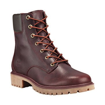 Timberland 6 Inch Jayne Waterproof Boot Burgundy