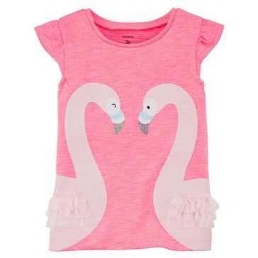 Carter's Toddler Girls' Swan Tee