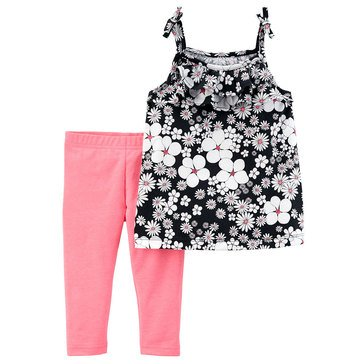 Carter's Toddler Girls' 2-Piece Knit Legging Set