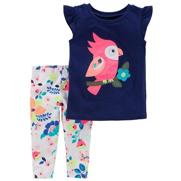 Carter's Little Girls' 2-Piece Knit Legging Set