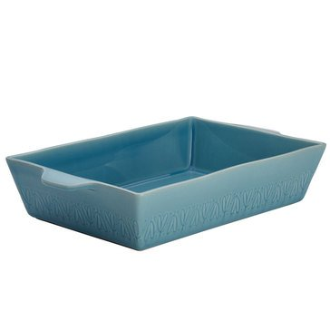 Ayesha Curry Home Collection 9 x 13 Stoneware Rectangular Baker, Blue