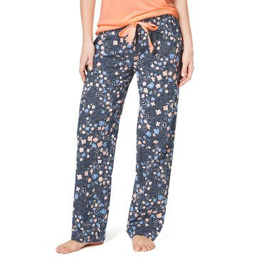 Jenni Women's Cropped PJ Pants in Falling Floral