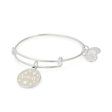 Alex and Ani Harry Potter™ Always Expandable Bangle, Silver Finish