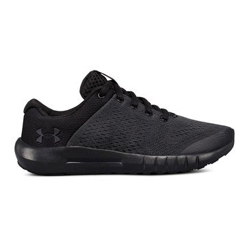 Under Armour Pursuit- Boy's Running Sneaker- Anthracite