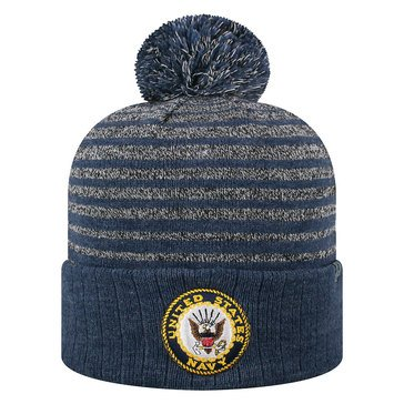 Top Of The World  Ritz Knit Beanie With USN Logo Design