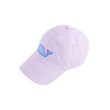 Vineyard Vines Women's Baseball Hat With Gingham Whale