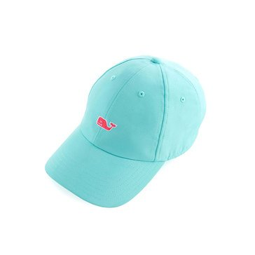 Vineyard Vines Women's Performance Baseball Hat With Pink Whale