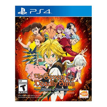 PS4 The Seven Deadly Sins: Knights of Britannia 2/9/18