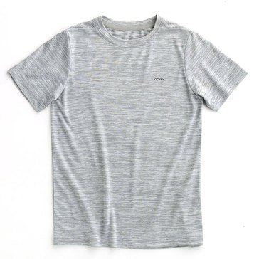 Jockey Big Boys' Spacedye Tee, Grey